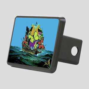 Butterfly Sailing Pirate S Rectangular Hitch Cover