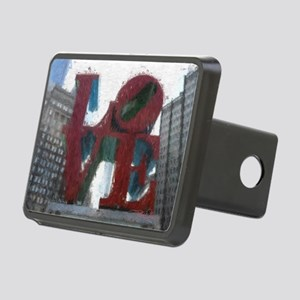 All You Need Is Love Rectangular Hitch Cover