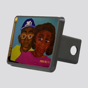Chelsa and Daryl Rectangular Hitch Cover