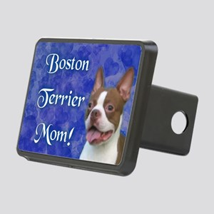 Boston Terrier Mom Rectangular Hitch Cover