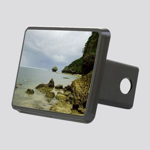 Typhoon coming, Okinawa, J Rectangular Hitch Cover