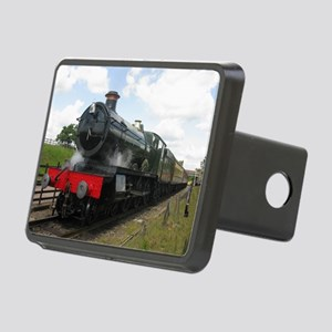 Railway  train Photography Rectangular Hitch Cover