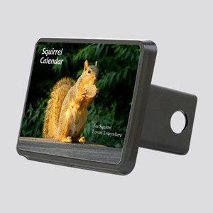For Squirrel Lovers Everyw Rectangular Hitch Cover