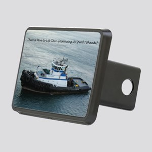 Tugboat Rectangular Hitch Cover