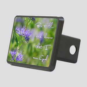 Be still Rectangular Hitch Cover