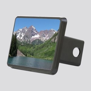 Maroon Bells Aspen Colorad Rectangular Hitch Cover
