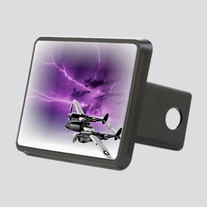P 38 Lightning Rectangular Hitch Cover