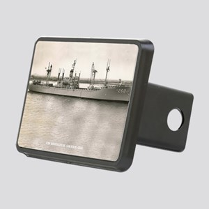 uss betelgeuse framed pane Rectangular Hitch Cover