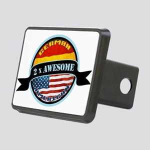 German American 2x Awesome Rectangular Hitch Cover