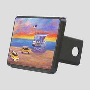 Redondo Beach Lifeguard Tower Hitch Cover