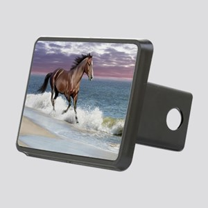 Dreamer_on_beach Rectangular Hitch Cover