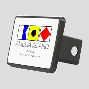 Amelia Island Florida Naut Rectangular Hitch Cover