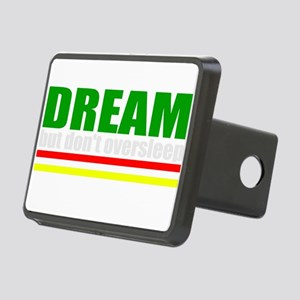 African American Dream Rectangular Hitch Cover