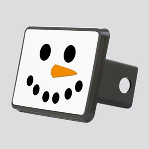 Snowman Face Rectangular Hitch Cover