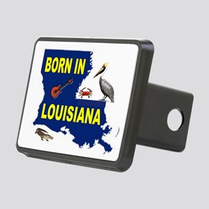 LOUISIANA BORN Hitch Cover