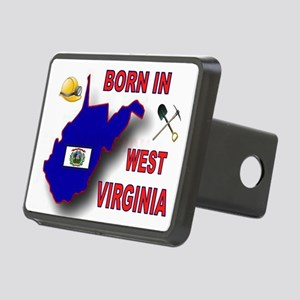 WEST VIRGINIA BORN Hitch Cover