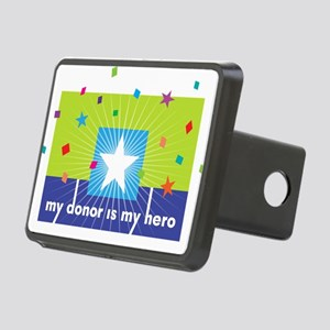 My Hero Collection Rectangular Hitch Coverle)