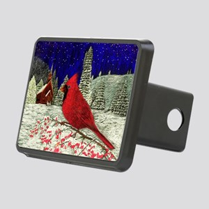 Red Cardinal Hitch Cover