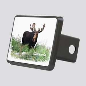 Minnesota Moose Rectangular Hitch Cover