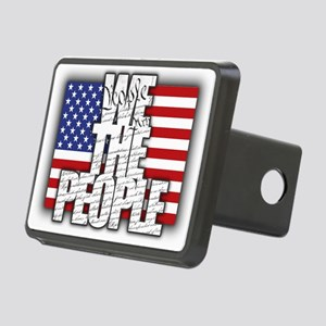 WE THE PEOPLE with Flag Hitch Cover