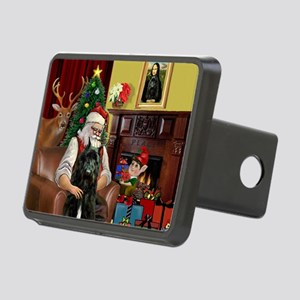 Santa's Bouvier Rectangular Hitch Cover