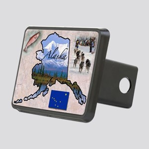 AlaskaMap28 Rectangular Hitch Cover
