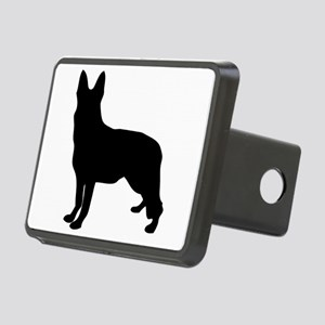 German Shepherd Silhouette Hitch Cover