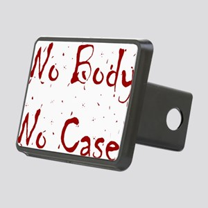 No Body, No Case Rectangular Hitch Cover