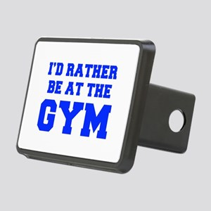ID-RATHER-BE-AT-THE-GYM-FRESH-BLUE Hitch Cover
