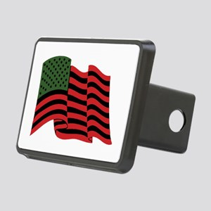 African American Flag Hitch Cover
