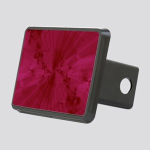 Shattered in Magenta Rectangular Hitch Cover