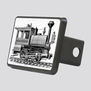 Vintage Steam Locomotive Rectangular Hitch Cover