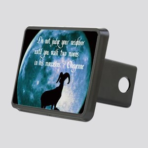 Cheyenne Proverb Rectangular Hitch Cover