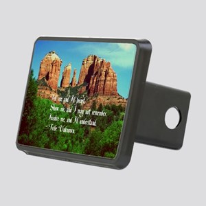 Indian Proverb Rectangular Hitch Cover
