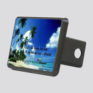 Life Goes On Rectangular Hitch Cover