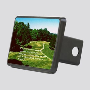 Mocassin Tracks Rectangular Hitch Cover