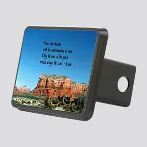 Law of Spirit Rectangular Hitch Cover