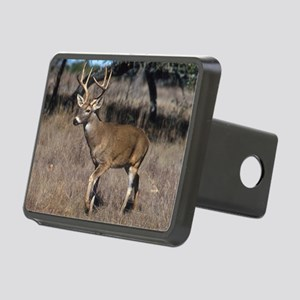 White Tail Deer Rectangular Hitch Cover