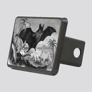 Vampire Bat Rectangular Hitch Cover