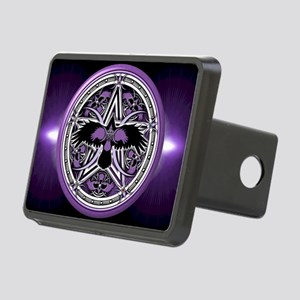 Purple Crow Pentacle Rectangular Hitch Cover