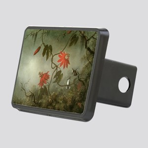 Passion Flowers and Hummin Rectangular Hitch Cover