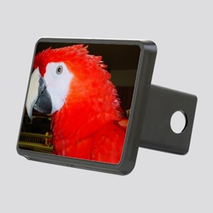 Scarlet Macaw1500x1100 Rectangular Hitch Cover