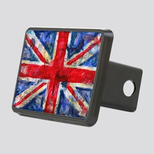 GB Flag Rectangular Hitch Cover