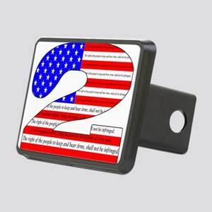 Keep our rights Rectangular Hitch Cover