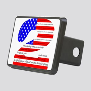 2nd Amendment Pride Rectangular Hitch Cover