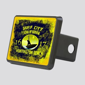 SURF CITY CALIFORNIA Rectangular Hitch Cover