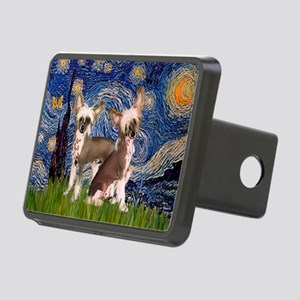 Starry Night / 2Chinese Crest Rectangular Hitch Co