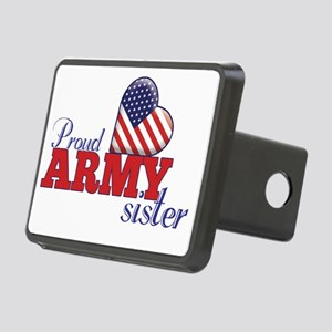 Proud Army Sister Rectangular Hitch Cover