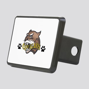 COUGAR WITH PAW PRINTS Hitch Cover