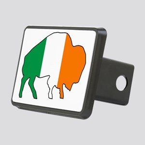 Buffalo Irish Flag Rectangular Hitch Cover
